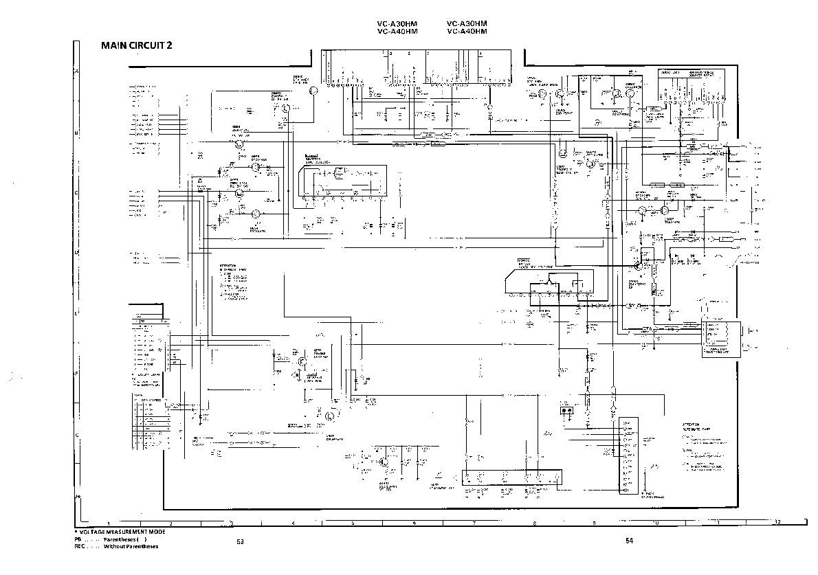Sharp VC-A30HM (SERV.MAN12) Service Manual — View online
