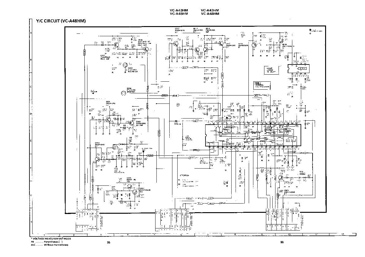 Sharp VC-A48HM (SERV.MAN20) Service Manual — View online