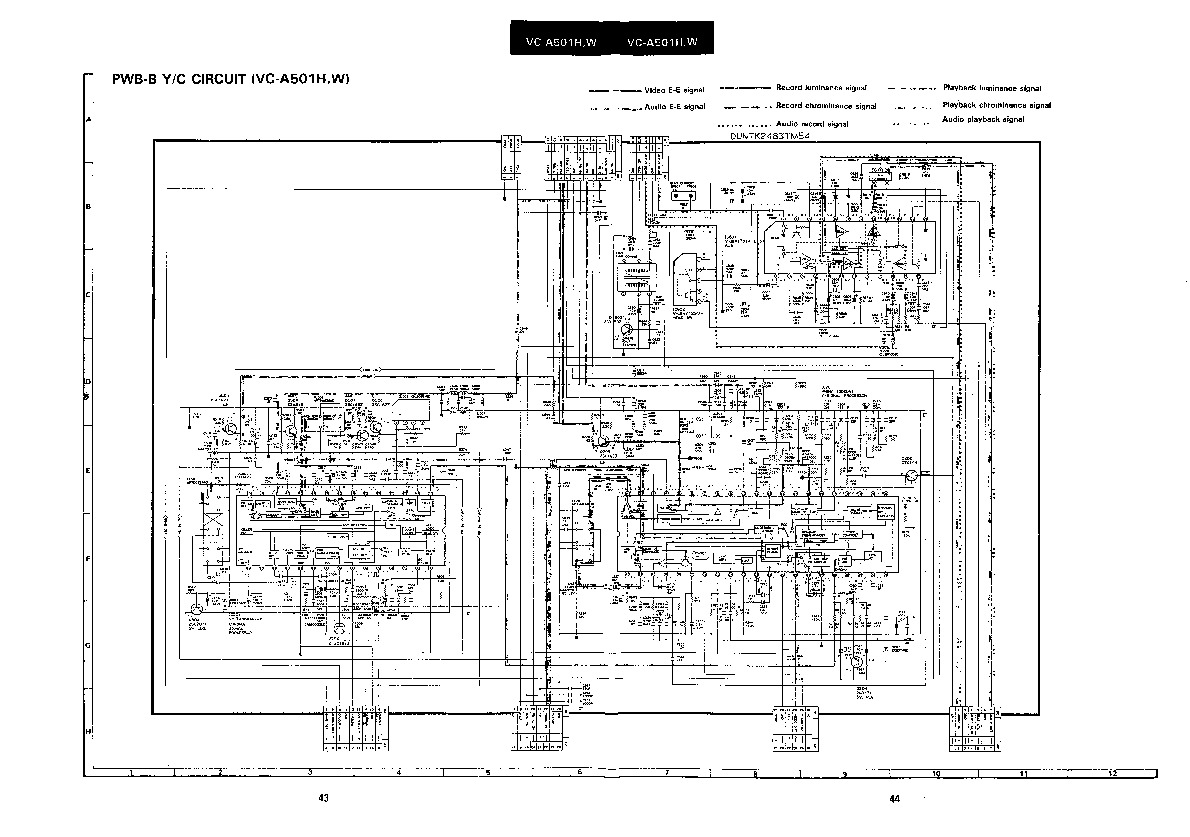 Sharp VC-A501HM (SERV.MAN9) Service Manual — View online