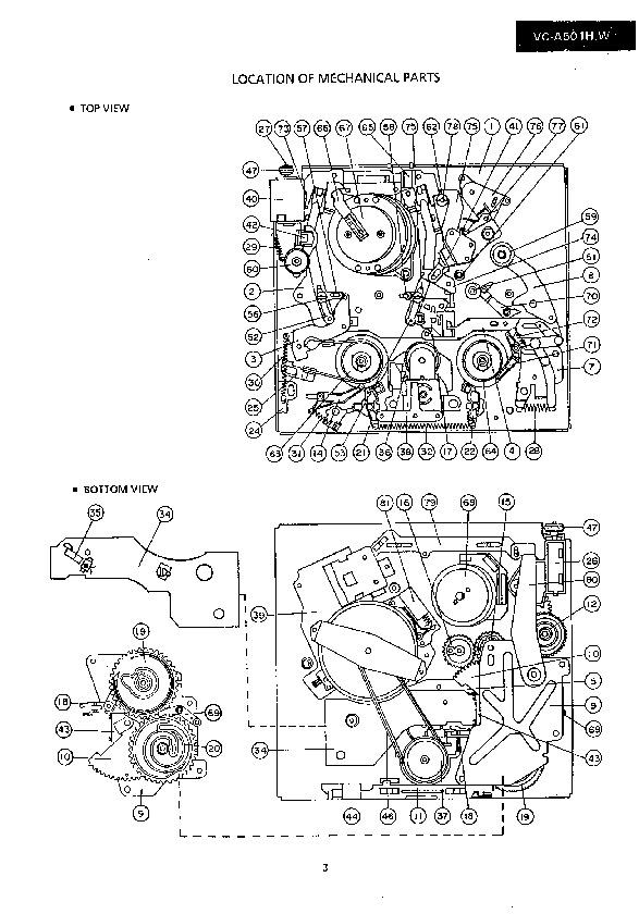Sharp VC-A501HM (SERV.MAN9) Service Manual — View online
