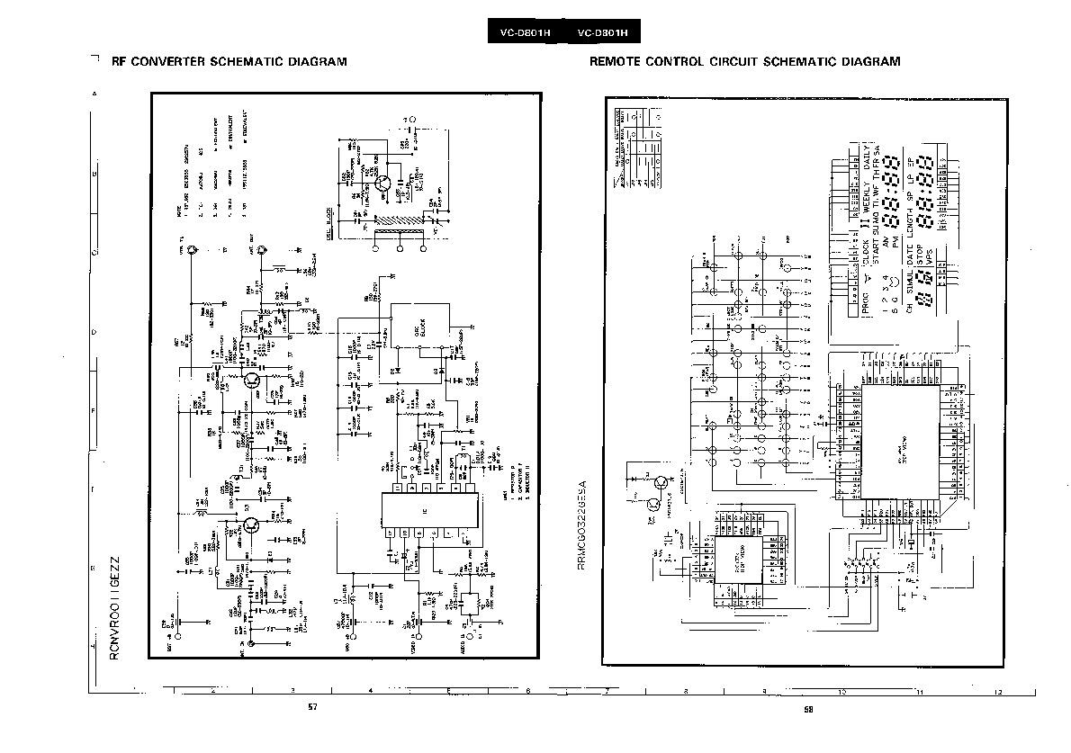 Sharp Vc D801h Servn4 Service Manual