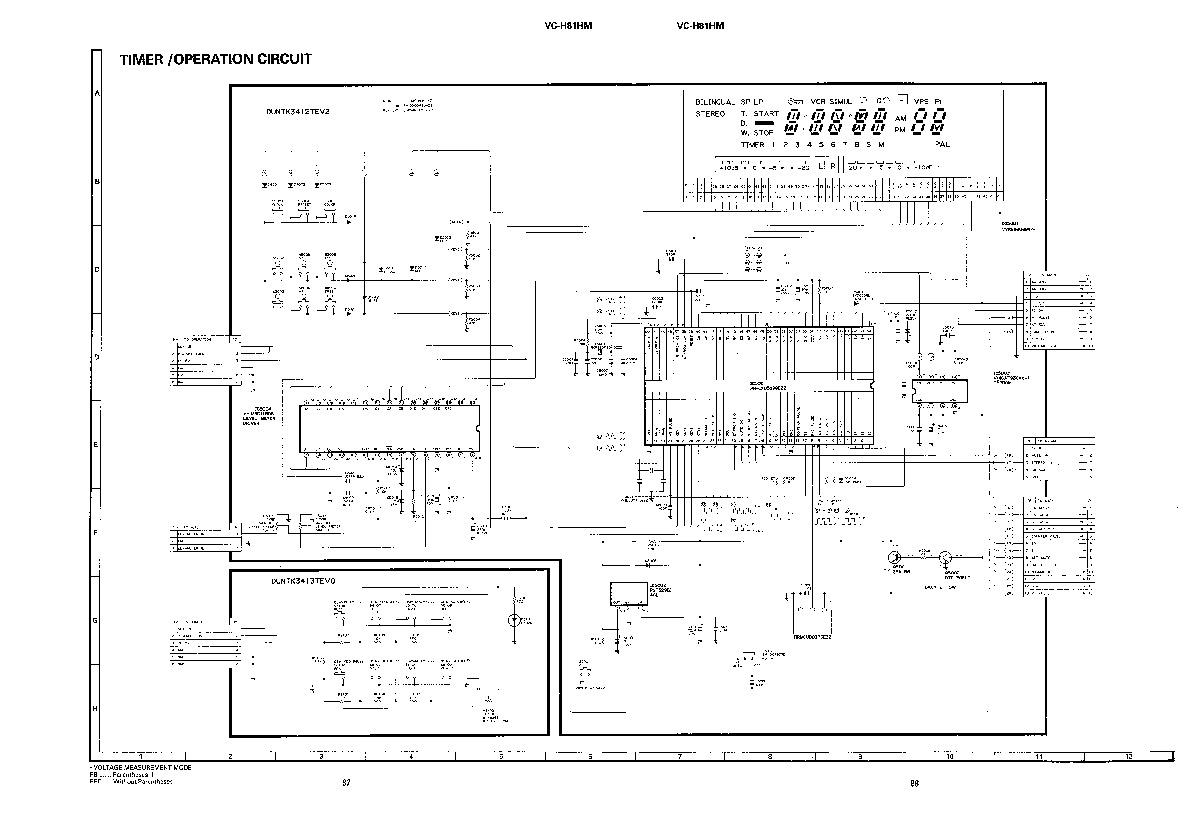 Sharp VC-H81HM (SERV.MAN8) Service Manual — View online or