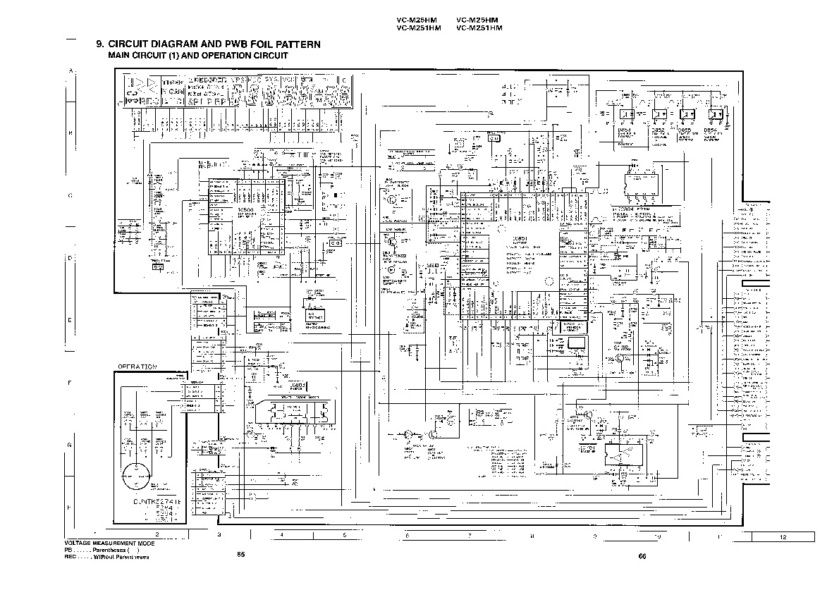 Sharp VC-M25HM (SERV.MAN9) Service Manual — View online or