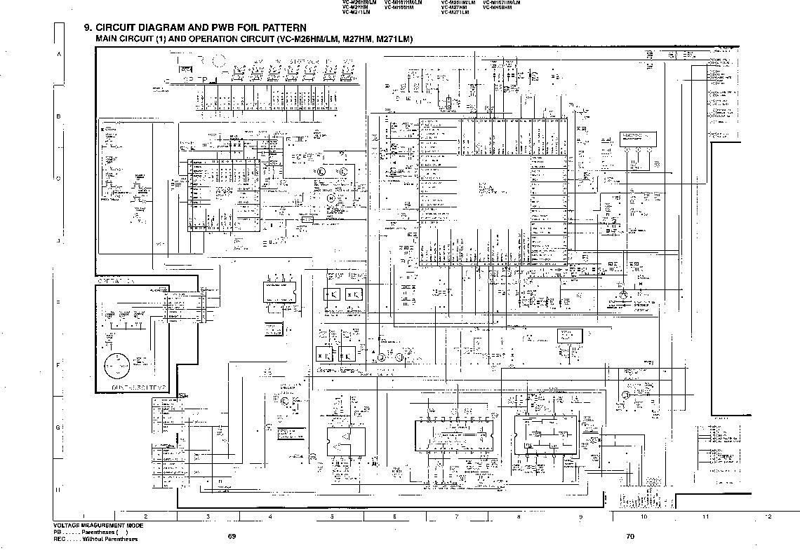 Sharp VC-M27HM (SERV.MAN10) Service Manual — View online