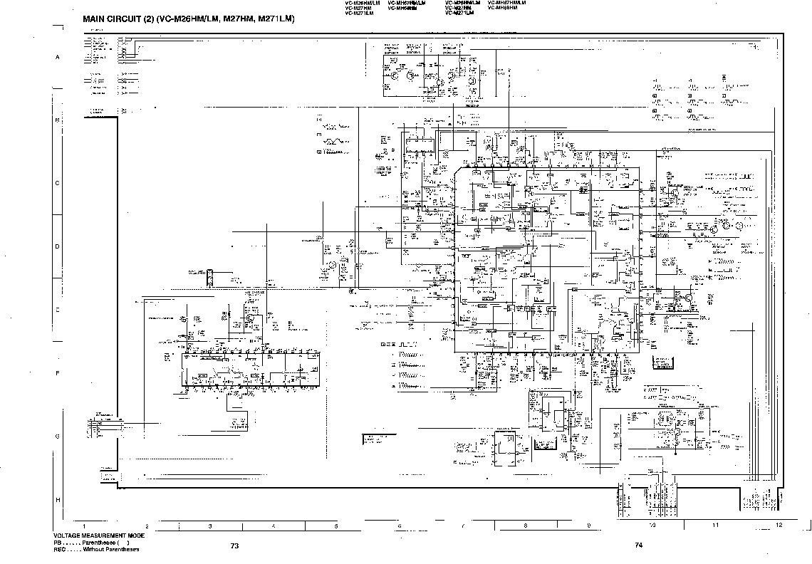 Sharp VC-M27HM (SERV.MAN11) Service Manual — View online