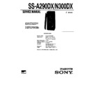 Sony SS-A190, SS-A290 Service Manual — View online or