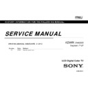 Sony KDL-32BX340, KDL-40BX440 Service Manual — View online
