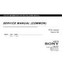 Sony KDL-32R435A, KDL-40R485A, KDL-46R485A, KLV-24R402A