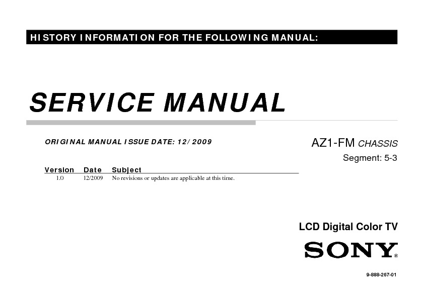 Sony KLV-26BX200, KLV-26BX205, KLV-32BX200, KLV-32BX205