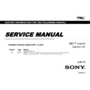 Sony XBR-43X830C, XBR-49X830C, XBR-49X835C, XBR-49X837C