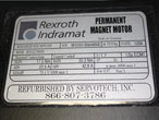 New Indramat Servo Motor Name Plate