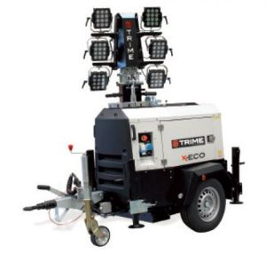 LED Mobile Lighting tower - Serv Plant Hire