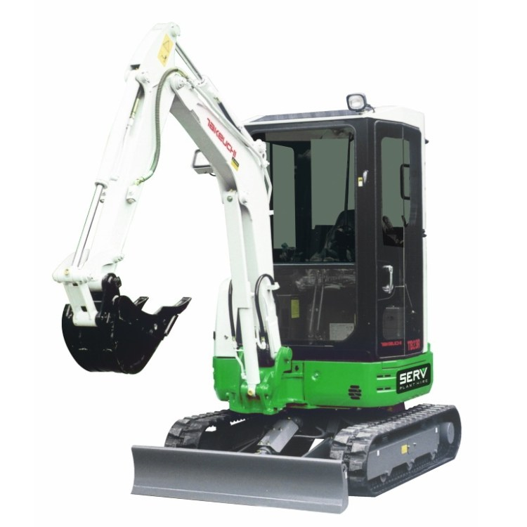 TB23R 3 Tonne Excavator - Reduced Tail Swing - SERV Plant Hire