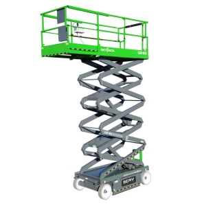 DC Electric Scissor Lift - SERV Plant Hire