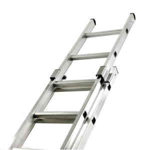 Double Extension Aluminium Ladder - SERV Plant Hire