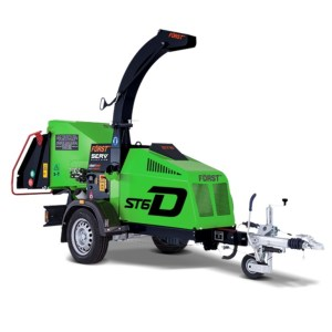 Towed Chipper - SERV Plant Hire