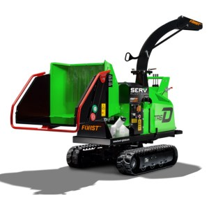 Tracked Chipper - SERV Plant Hire