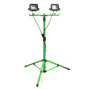 Tripod Mounted Twin Floodlight - SERV Plant Hire