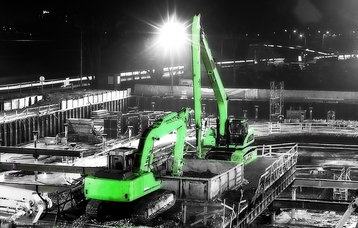 Construction site lighting requirements - SERV Plant Hire