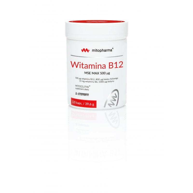 Witamina B12 500 mcg (120 kaps.) Dr. Enzmann MSE