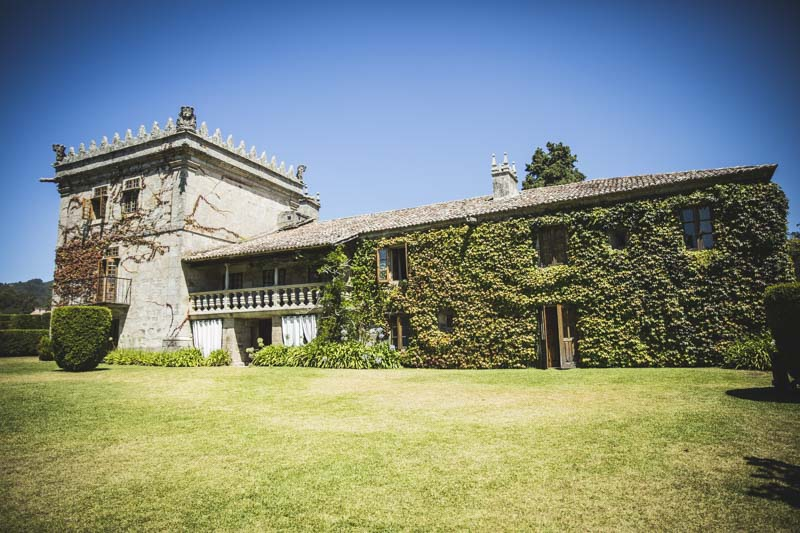 pazo da touza, mejores pazos en Pontevedra