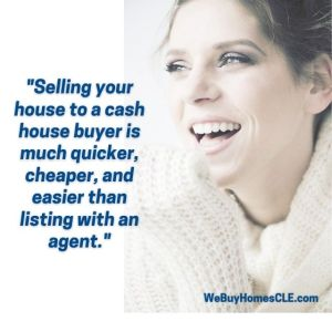 smiling woman - cash for houses