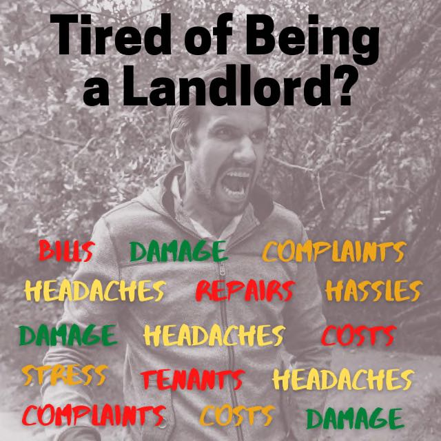 selling a rental property tired landlord