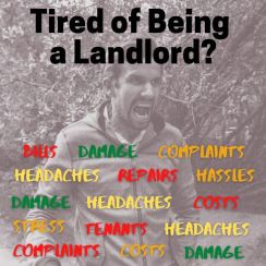 angry landlord - selling rental property in Cleveland