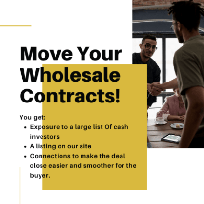 Move Your Contracts - jv wholesaling with sesa - real estate jv