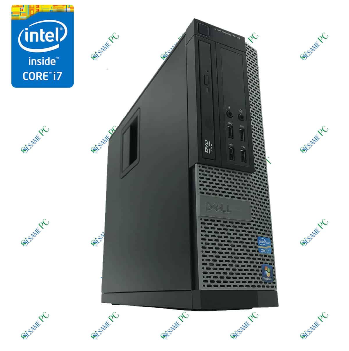 DELL Optiplex 7010 - Intel Core i7 - SesamePC