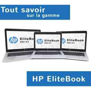 Modèles de la gamme professionnelle HP EliteBook