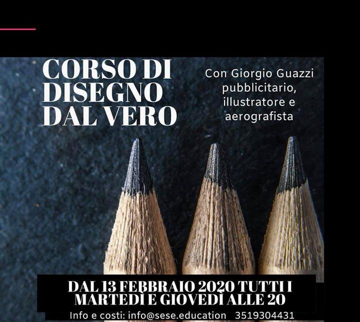 corso disegno dal vero Modena Sesè Giorgio Guazzi