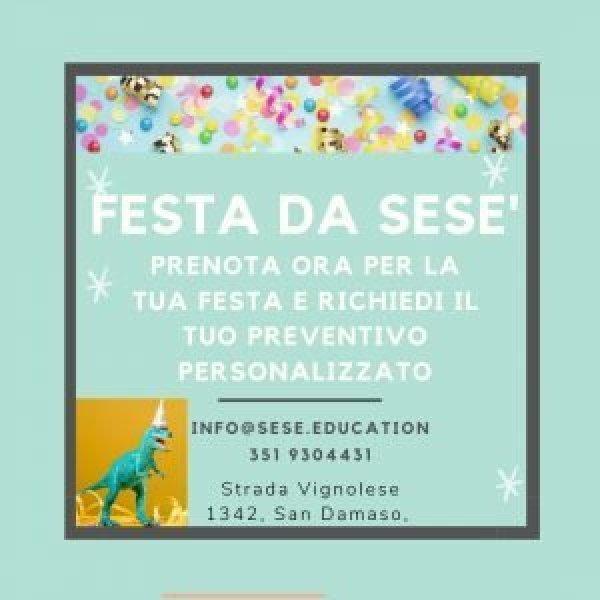 Festa allo Spazio Sesè - sese.education