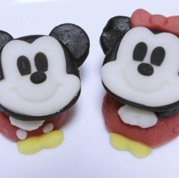 ミッキー&ミニー(コンビニ和菓子)