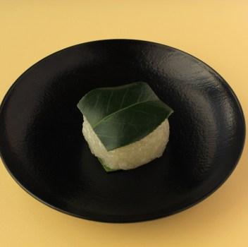 椿餅(京都/中村軒)