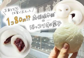 佐賀・森饅頭本舗の80円で楽しめるやさしい和菓子達