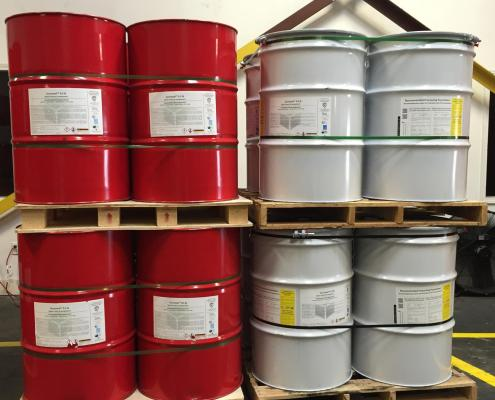 SES Spray Foam Barrels