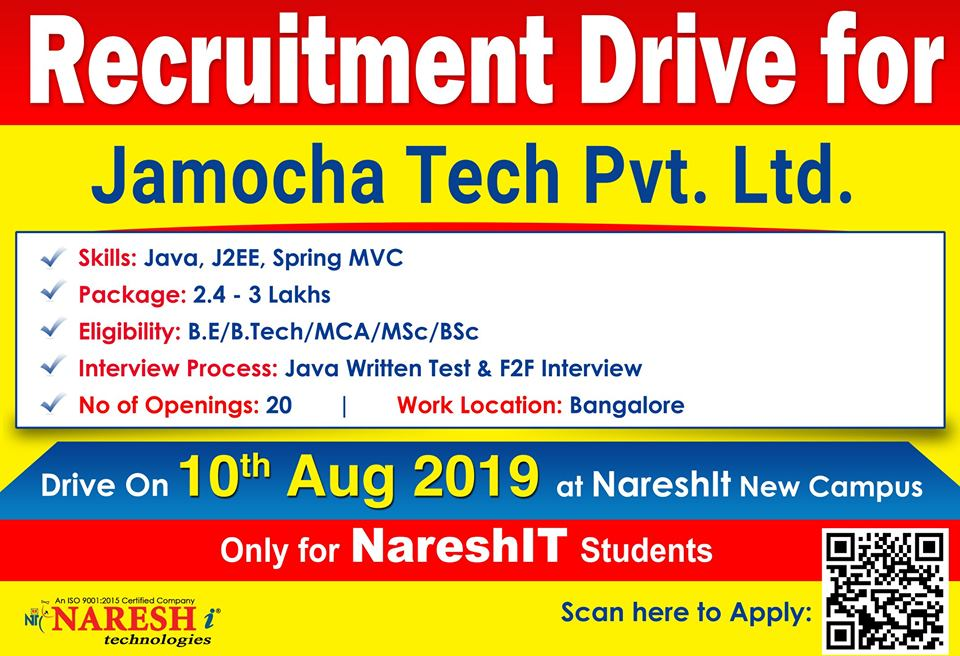 jamocha recruitment drive