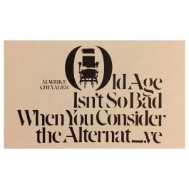 Herb Lubalin – Poster, Visual Graphics Company, 1965