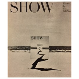 Henry Wolf – Mag Cover (Photo by Sokolsky), Show, 1962