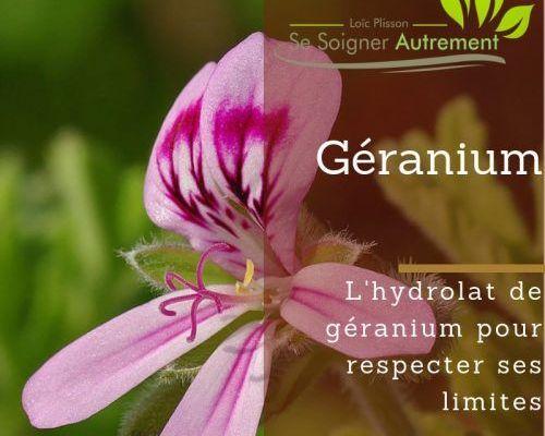 hydrolat de géranium