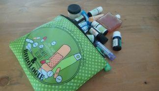 Choisir le sac de votre trousse de secours naturelle