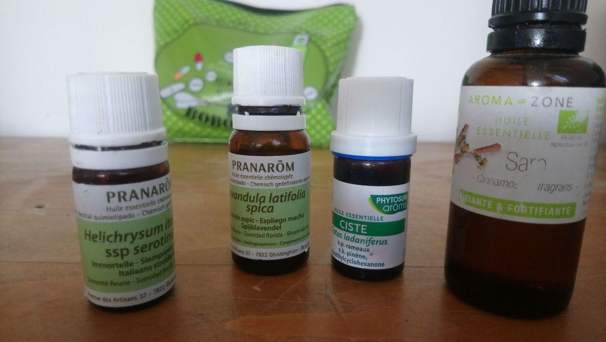 Les 4 huiles essentielles de base