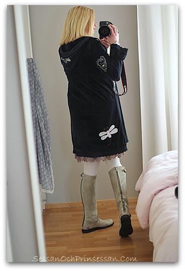 primeboots klänning