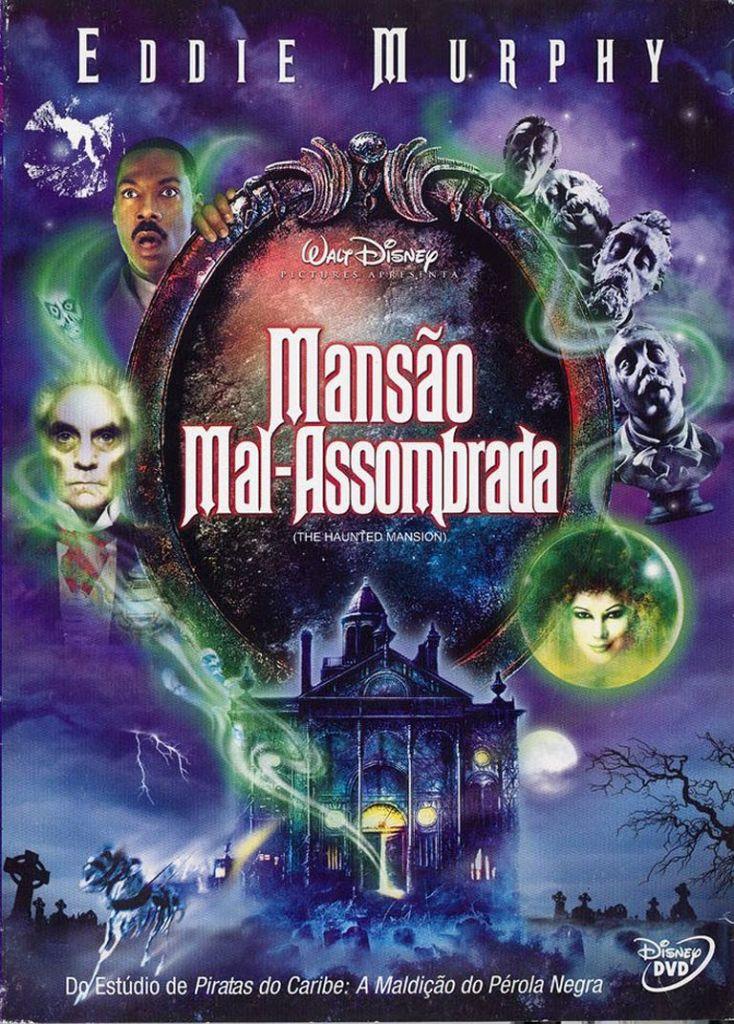 Cartaz do Filme Mansão Mal-Assombrada