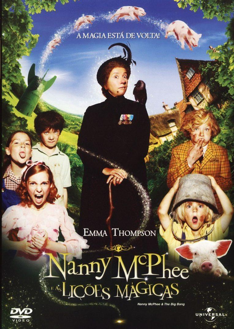 Cartaz do Filme Nanny McPhee e as Lições Mágicas