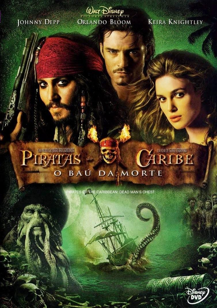 Cartaz do filme Piratas do Caribe: O Baú da Morte