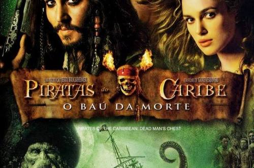 Cartaz do filme Piratas do Caribe: O Baú da Morte