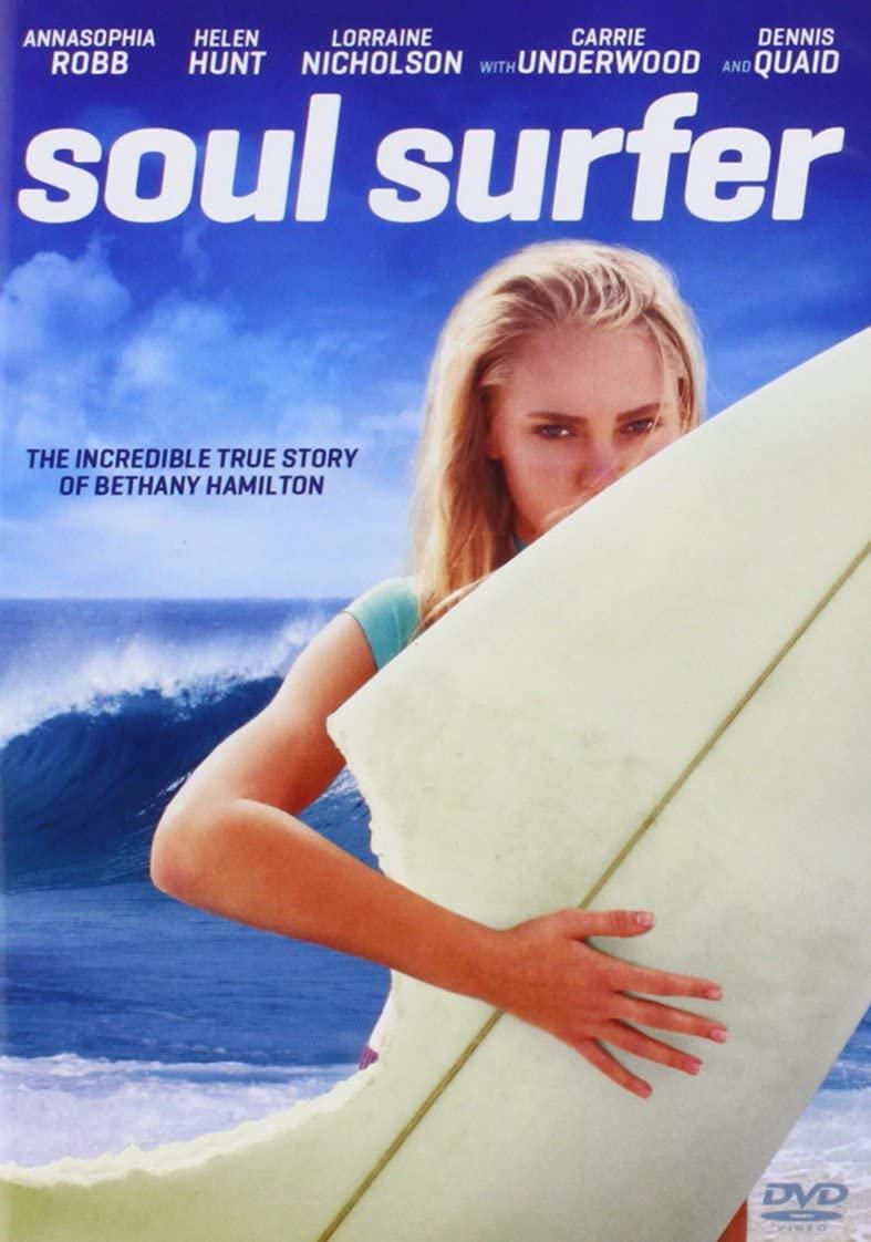 Cartaz do filme Soul Surfer - Coragem de Viver