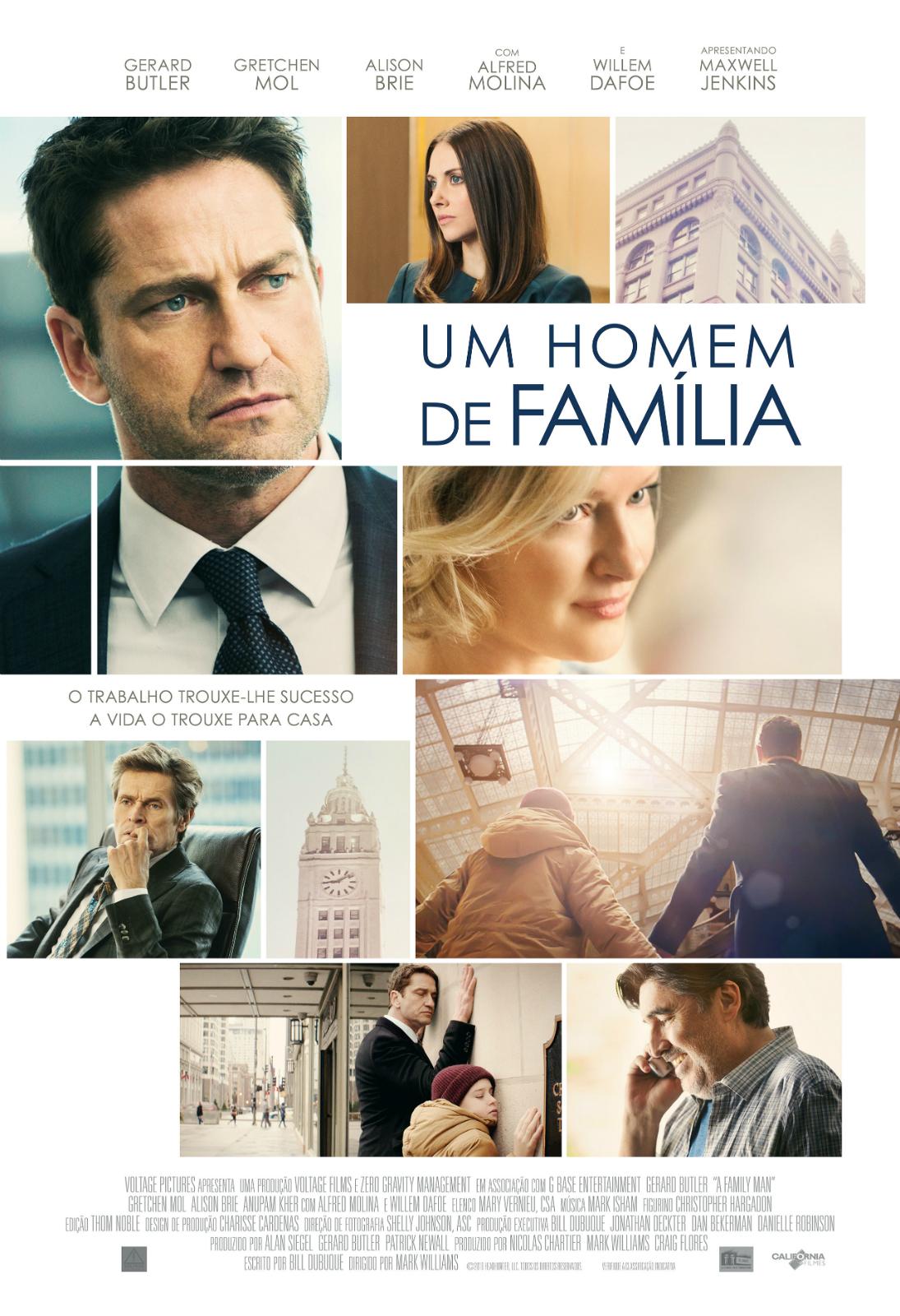 Cartaz do Filme Um Homem de Família - Sessão da Tarde 20 de outubro de 2020